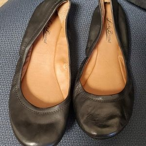 Lucky Brand black ballet  shoes size 7